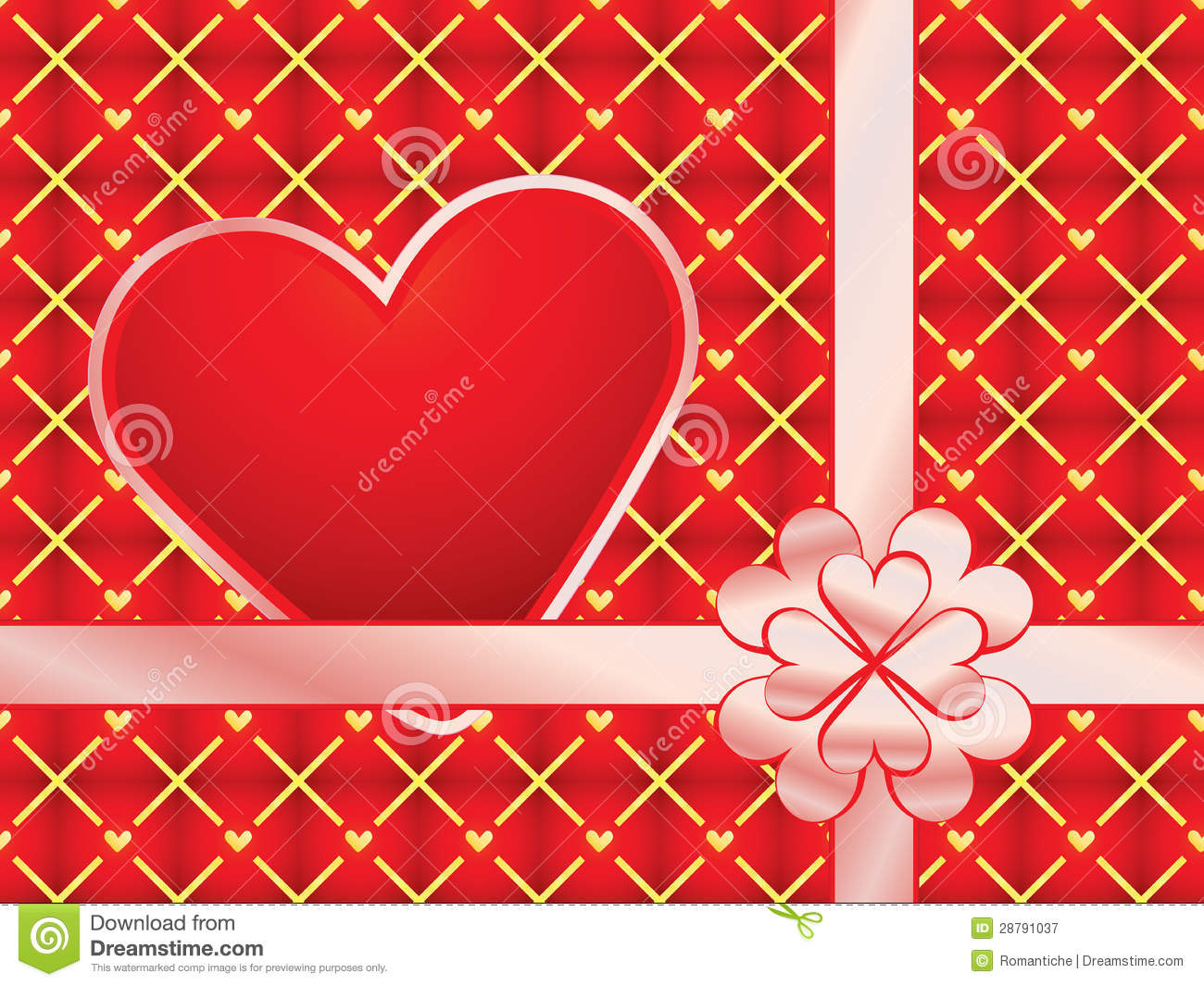 Gift wrapper with red valentine stock image image of ribbon heart gift wrapper with red valentine stock image image of ribbon heart 28791037 negle
