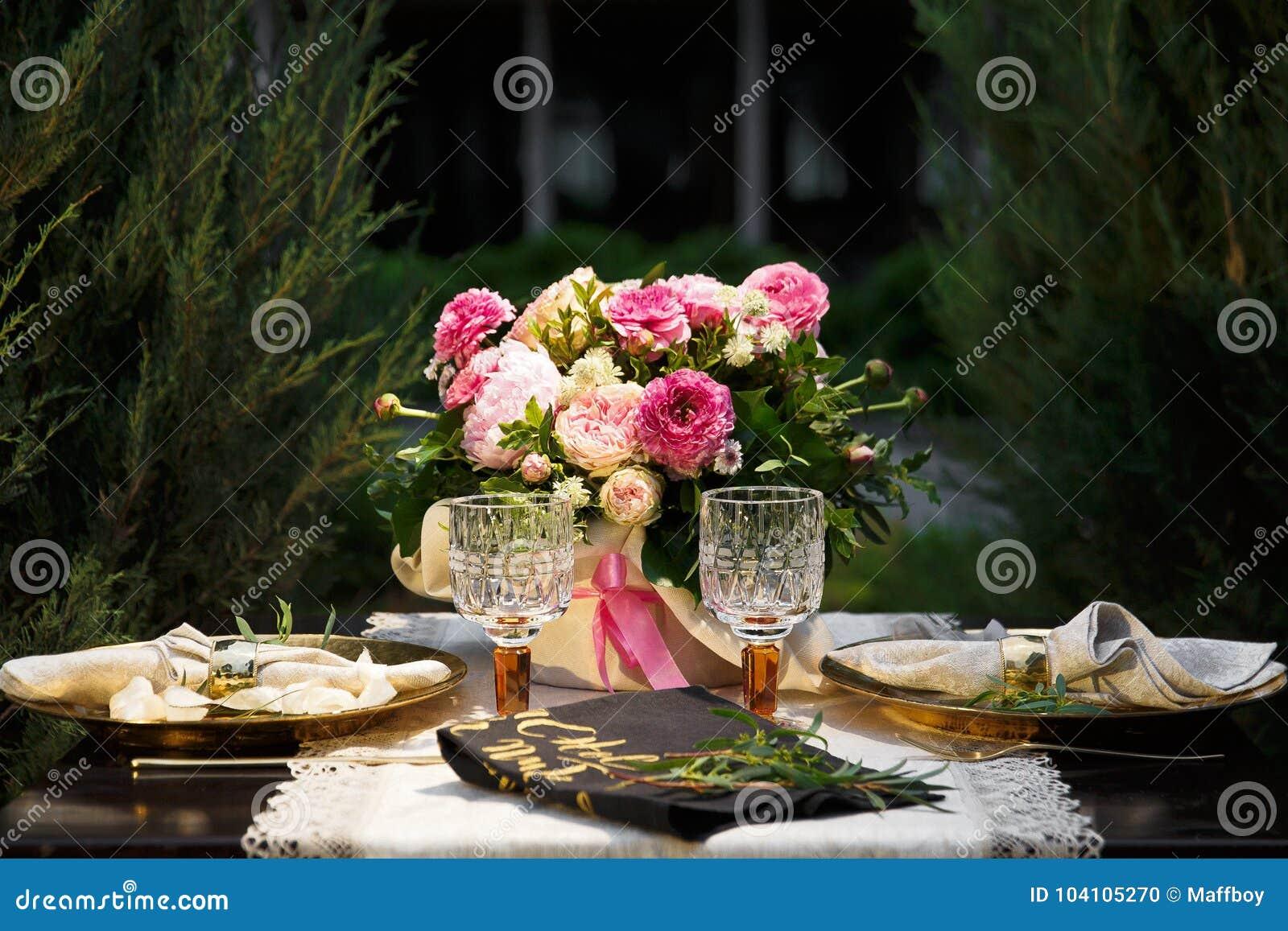 Gifta sig tabellen på öppen luft