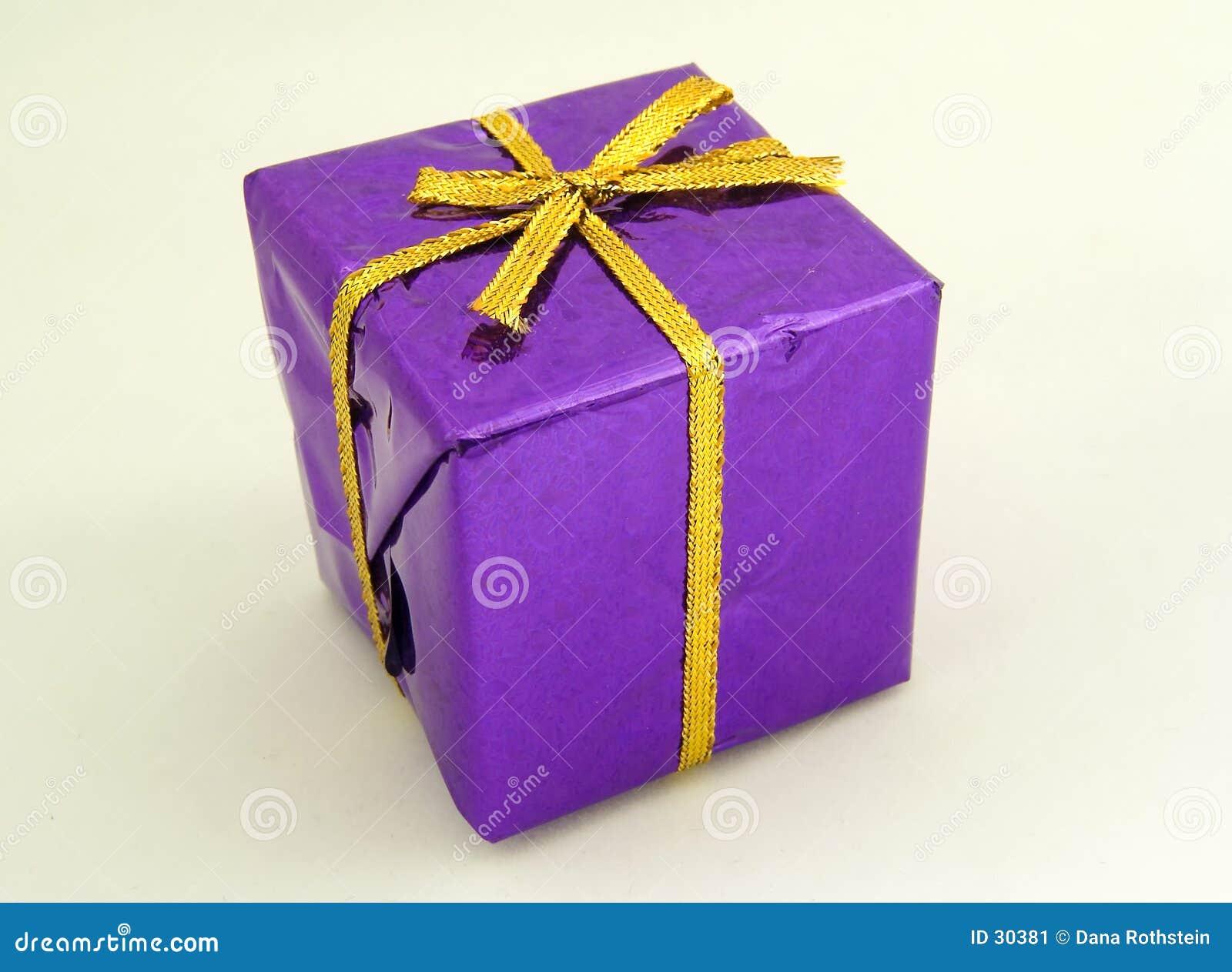 Giftbox purpurowy