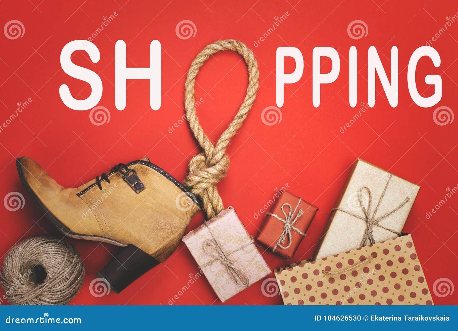 Download Giften, Pre-vakantieroutine, Het Concept Zwarte Vrijdag Stock Foto - Afbeelding bestaande uit kaart, heden: 104626530
