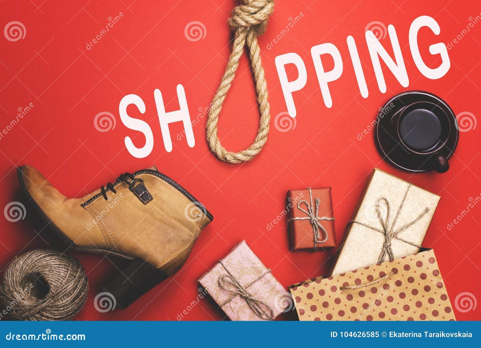Download Giften, Pre-vakantieroutine, Het Concept Zwarte Vrijdag Stock Afbeelding - Afbeelding bestaande uit hang, banner: 104626585
