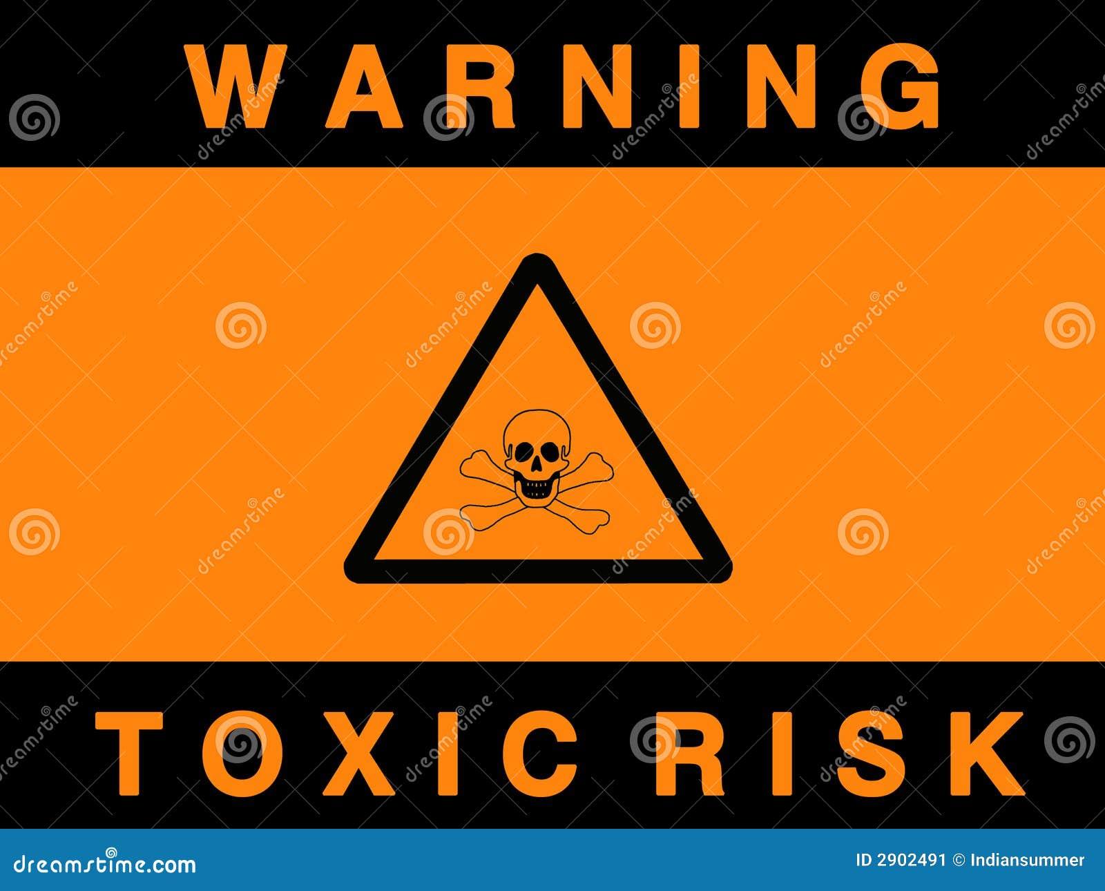 Giftiges Gefahrzeichen