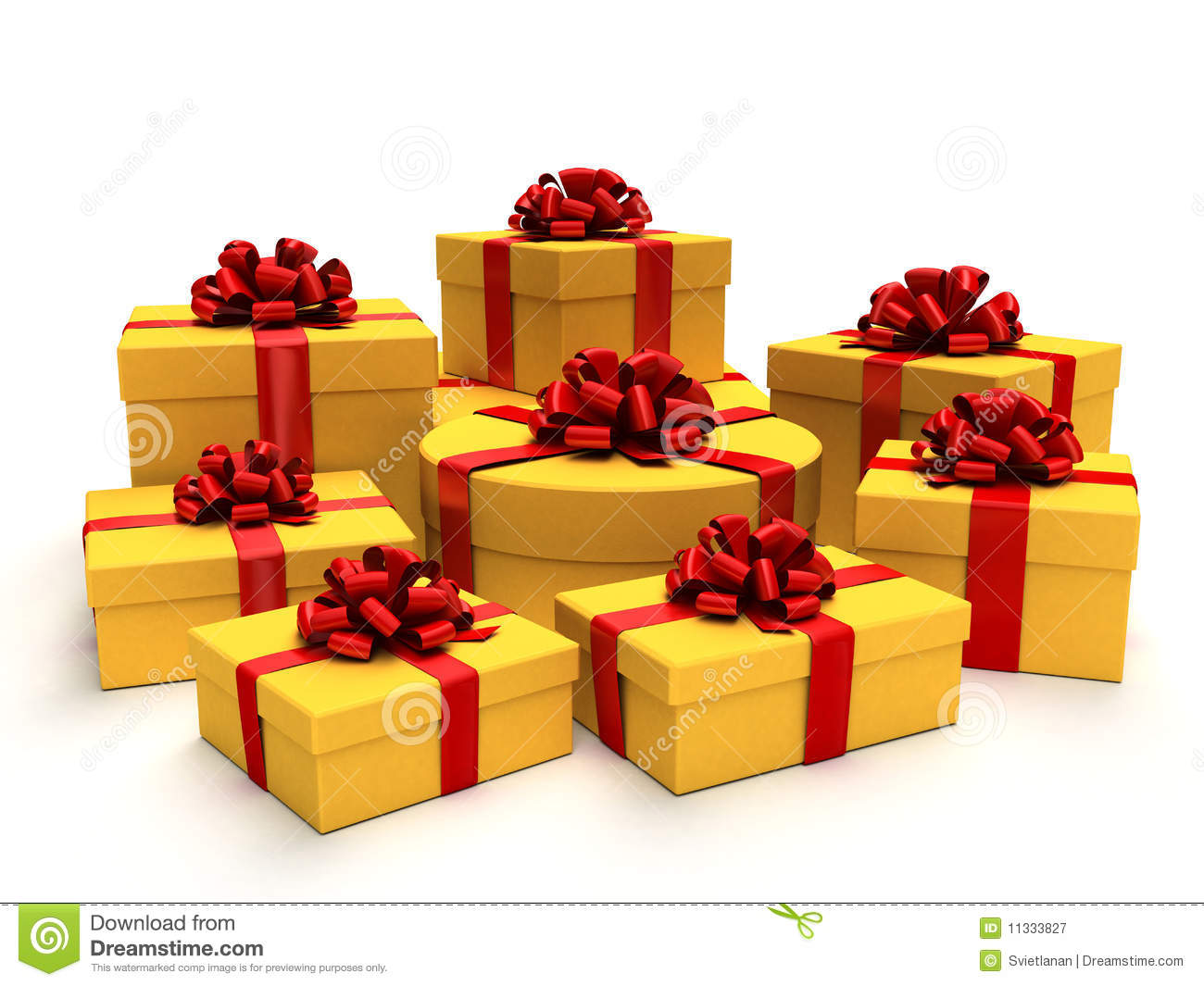 Gifts Stock Illustration Image Of Parcel Giveaway White