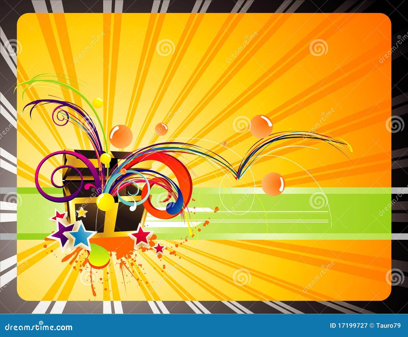 Gifts backgrounds illustration