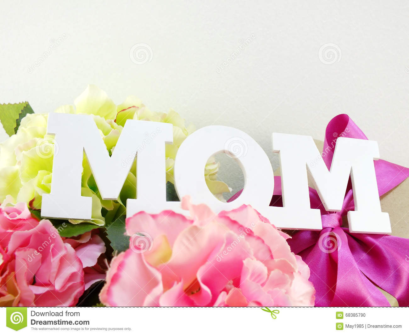 Gifts and beautiful bouquet of flowers for mom stock photo image gifts and beautiful bouquet of flowers for mom stock photo dhlflorist Choice Image