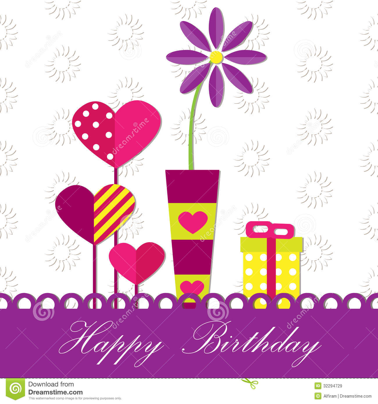 Birthday Card Vector Free Download Awesome Graphic Library