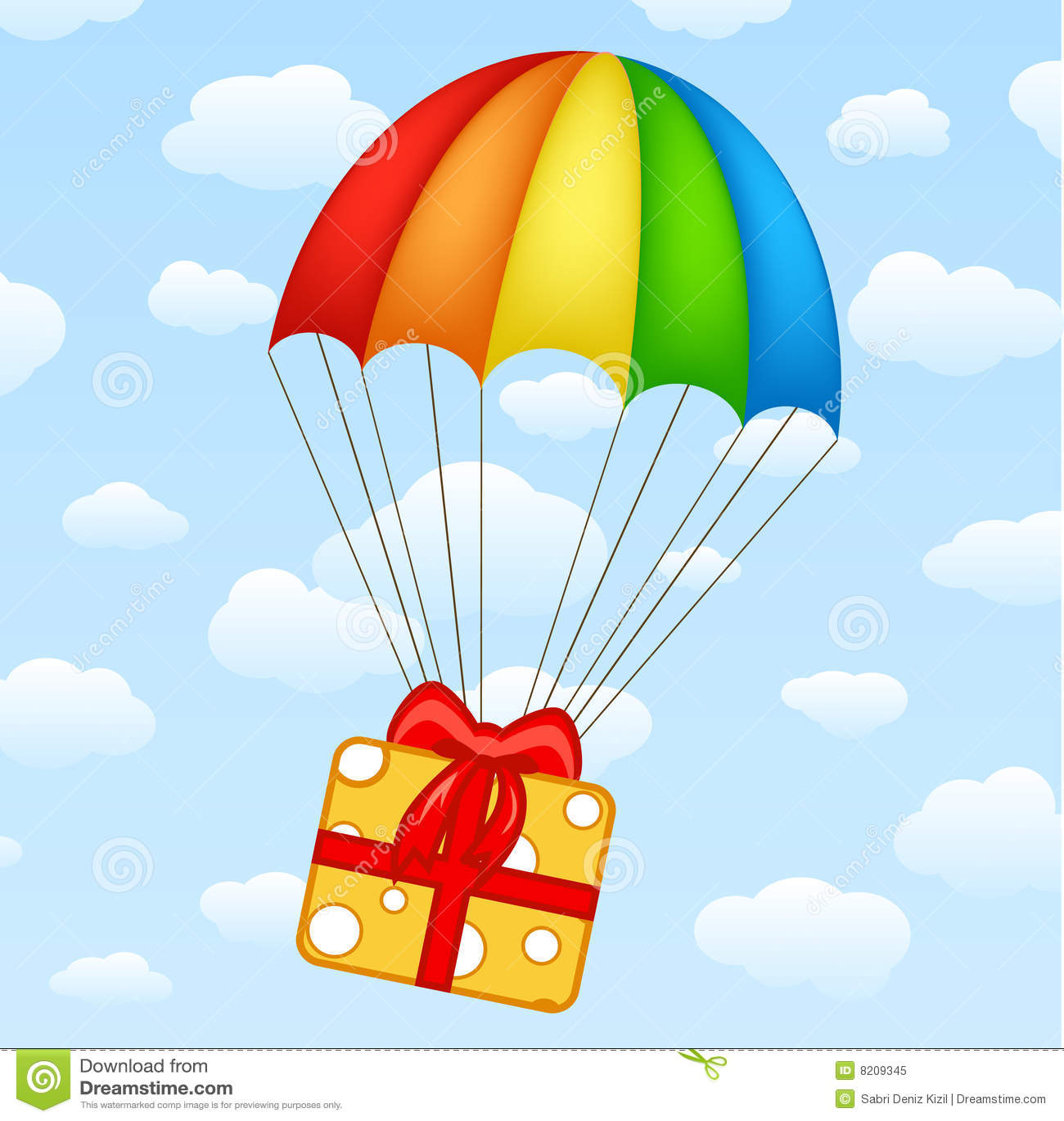 cartoon clipart parachute - photo #30