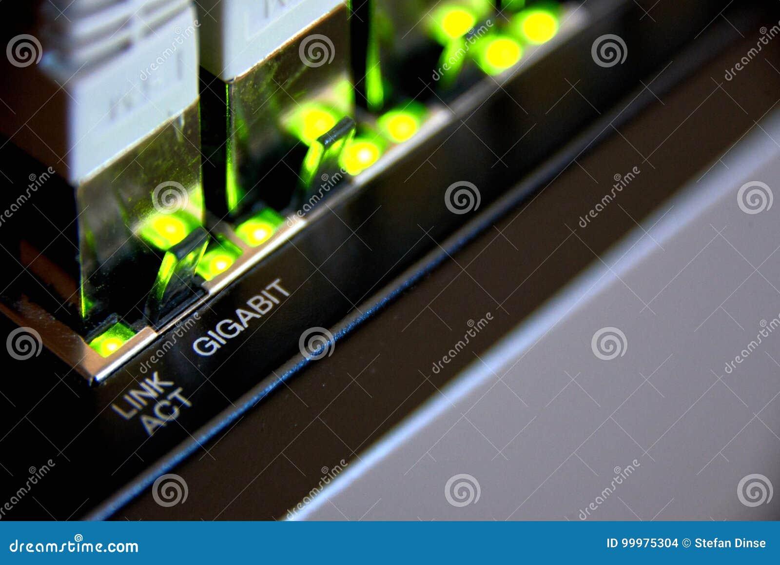 Gigabit ethernet σύνδεση