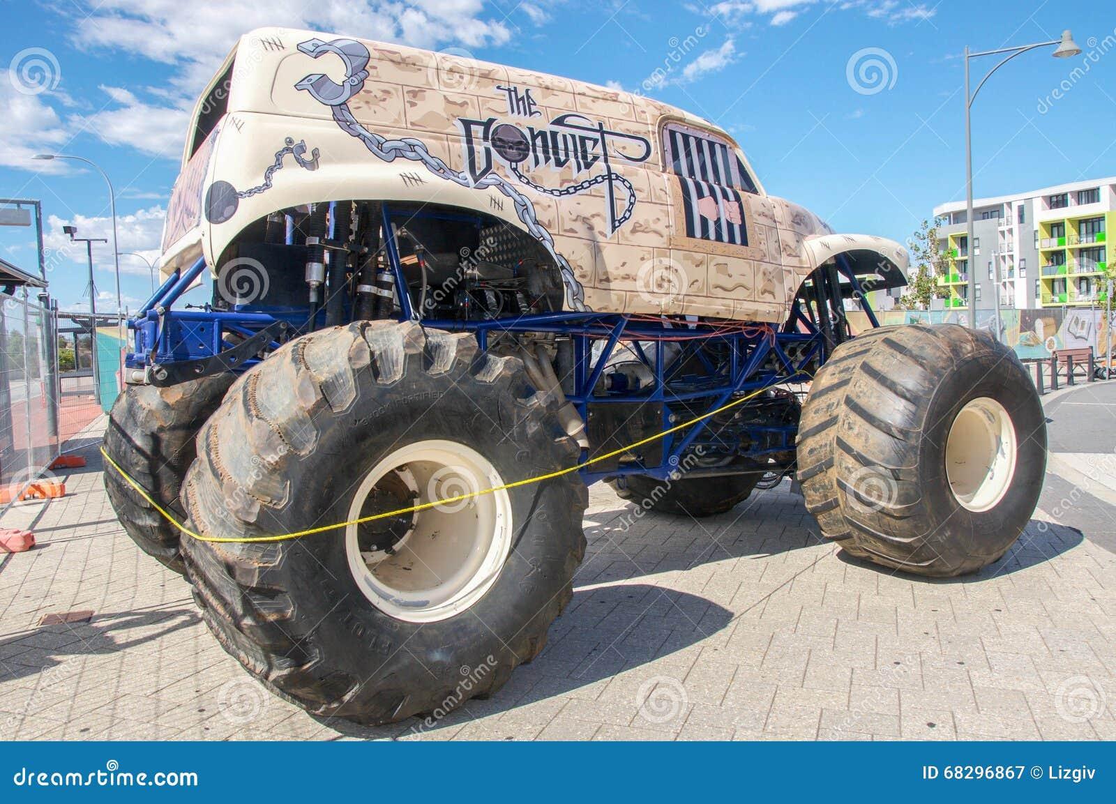 Gigantisk lastbil