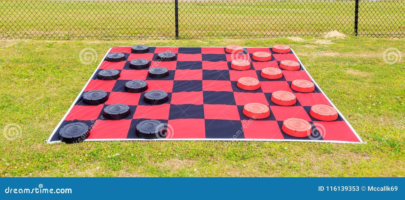 Gigantyczna Checker deska