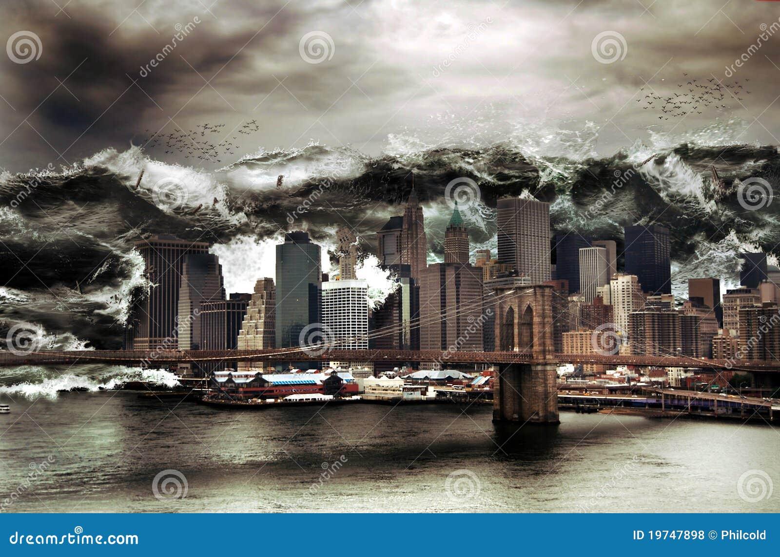 Gigantyczny tsunami