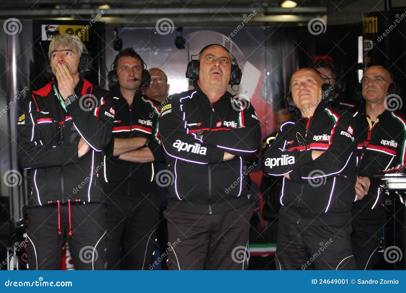 Gigi Dall Igna Aprilia RSV4 Aprilia Racing Team