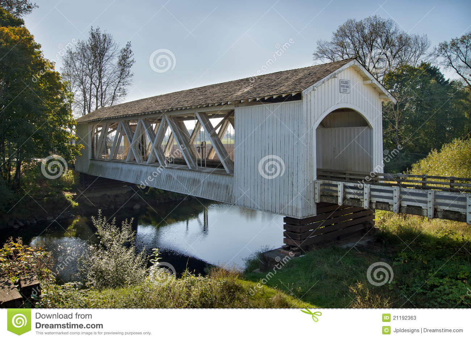 Giilkey Covered Bridge in Oregon