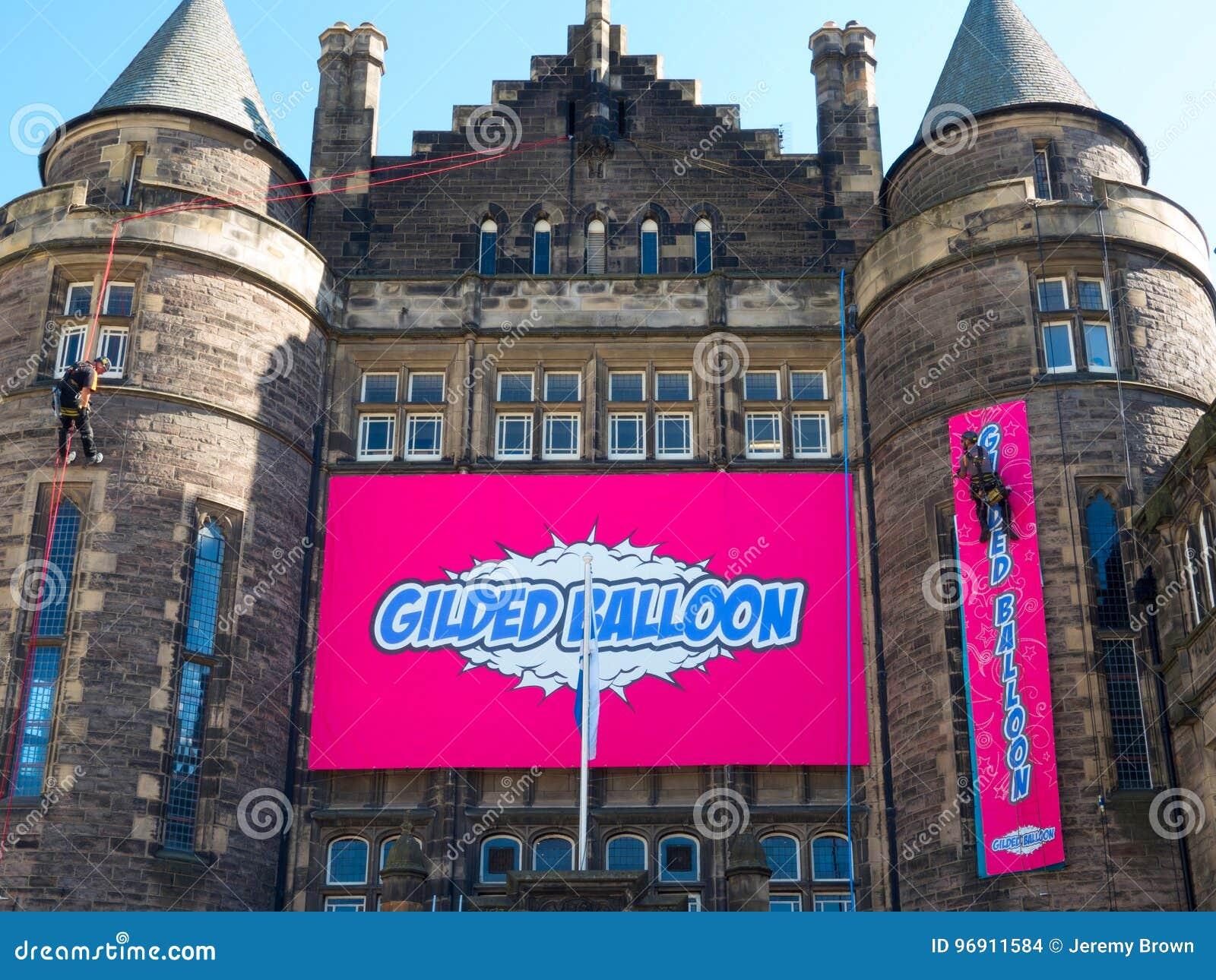 The Gilded Balloon at the Edinburgh Festival Fringe