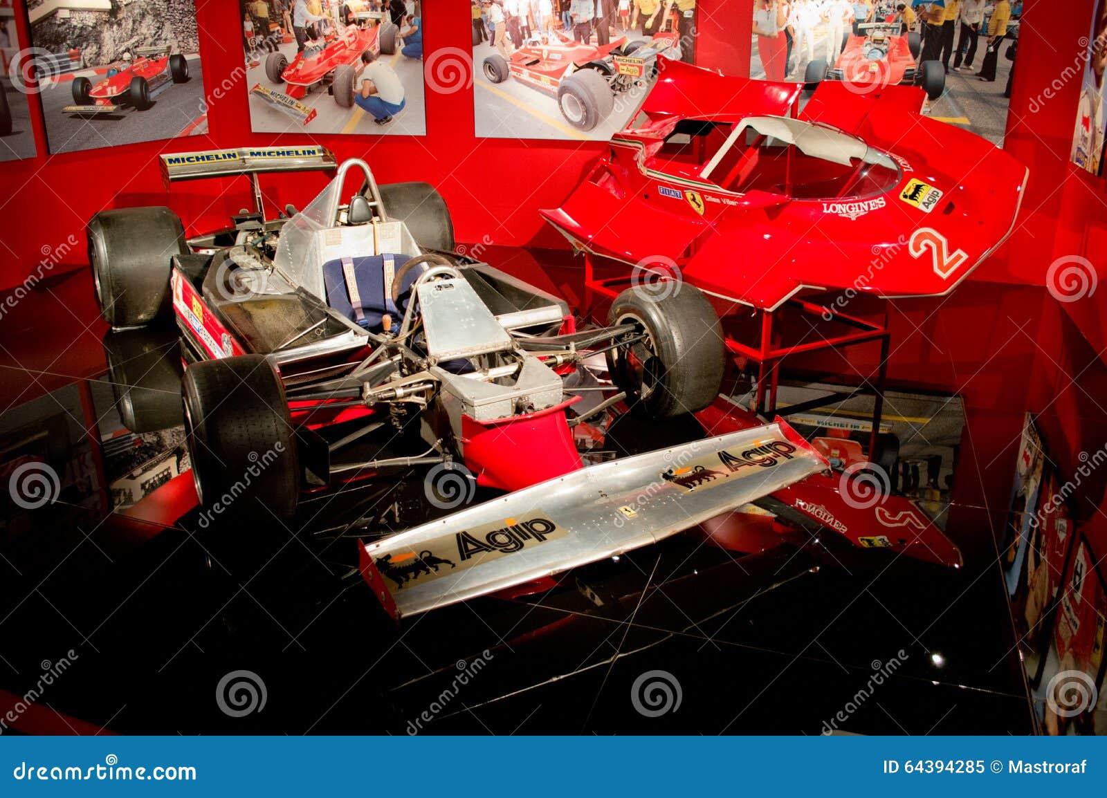 Gilles Villeneuves Ferrari T5