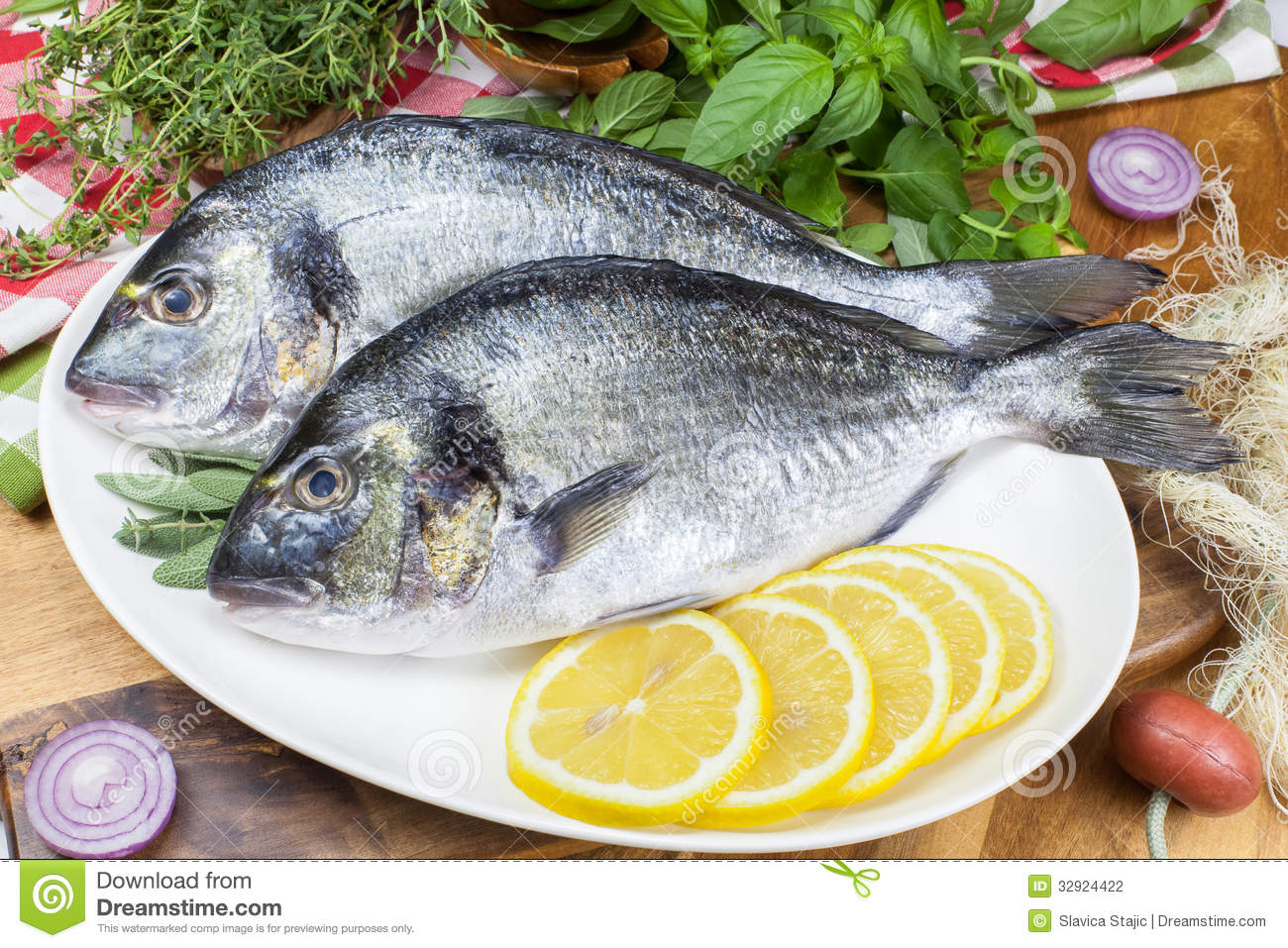 how to clean fresh bream