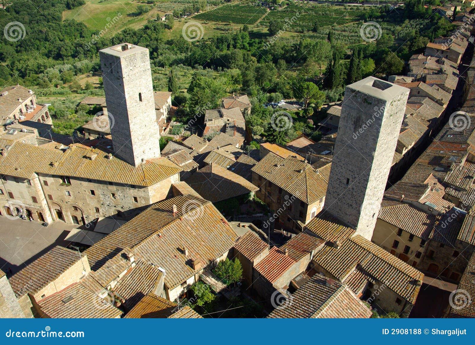 Gimignano italy san tuscany