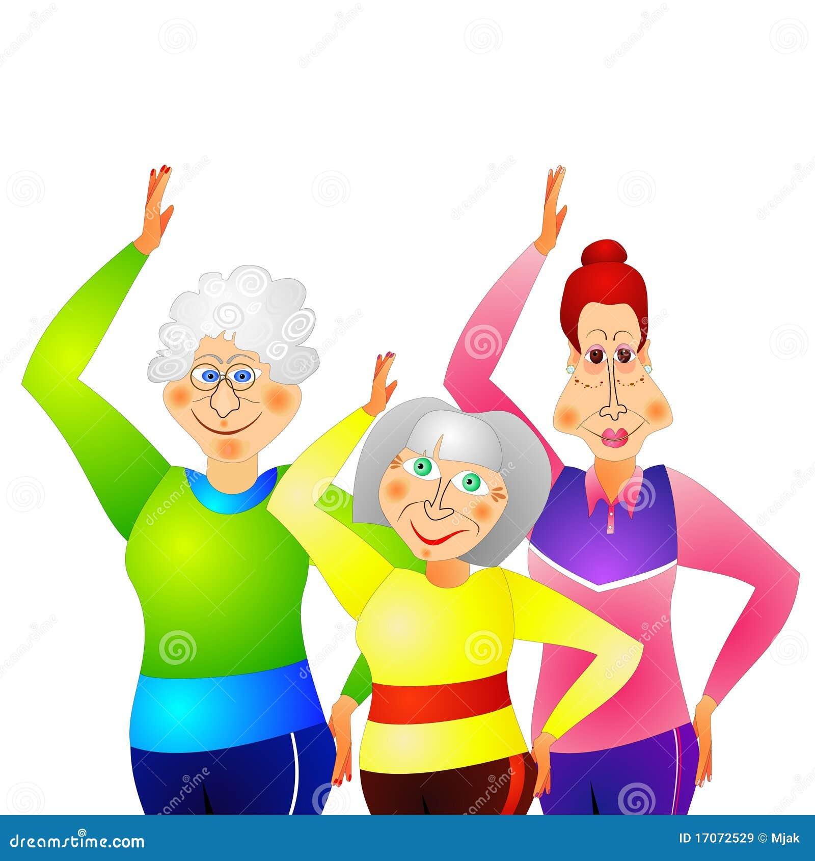 Mujeres mayores libres que follan