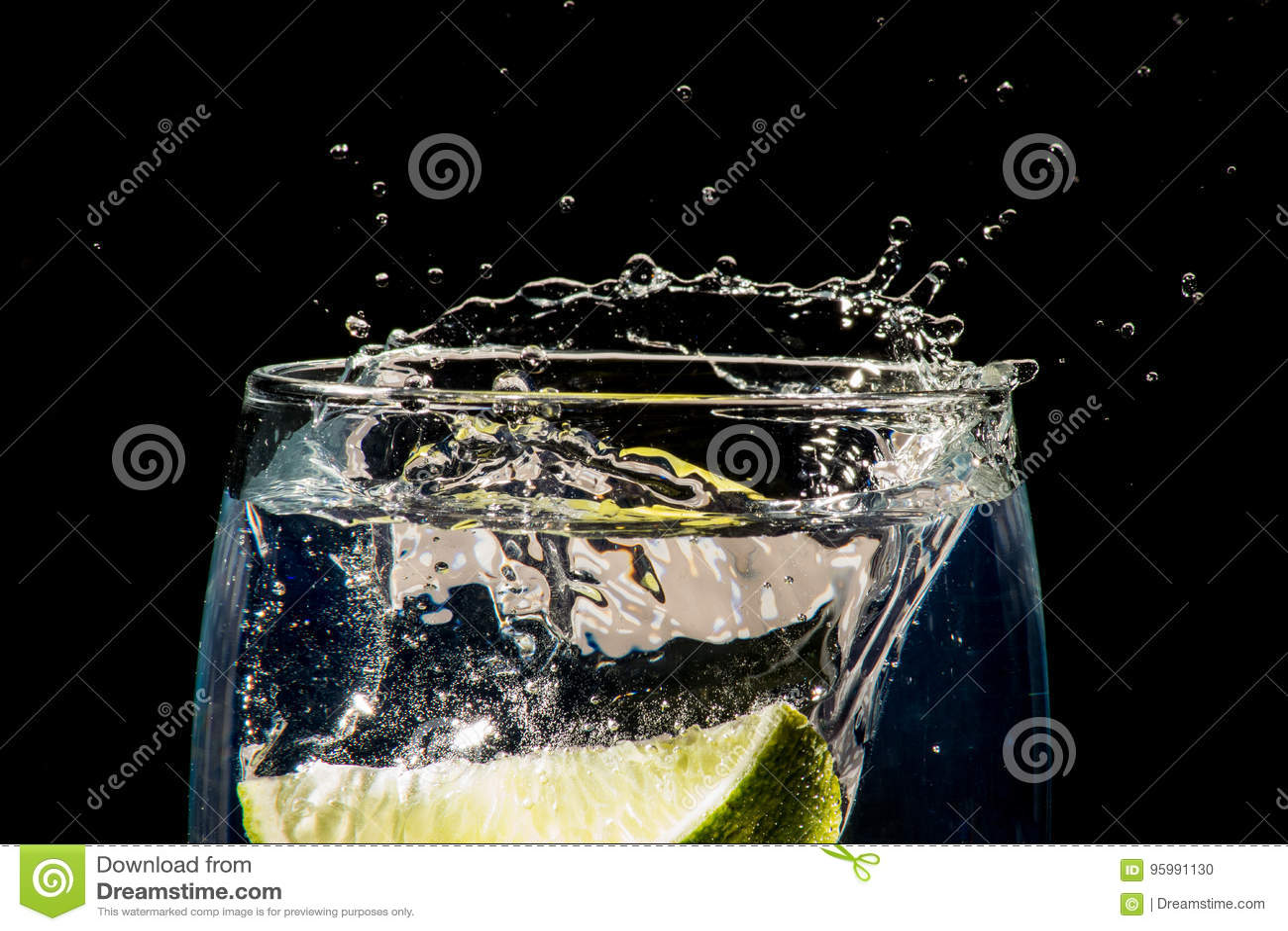 Gin&Tonic med limefrukt