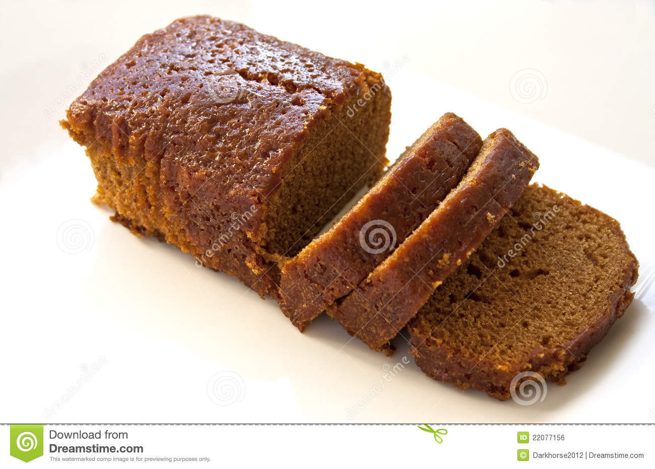 Ginger Cake Royalty Free Stock Image - Image: 22077156