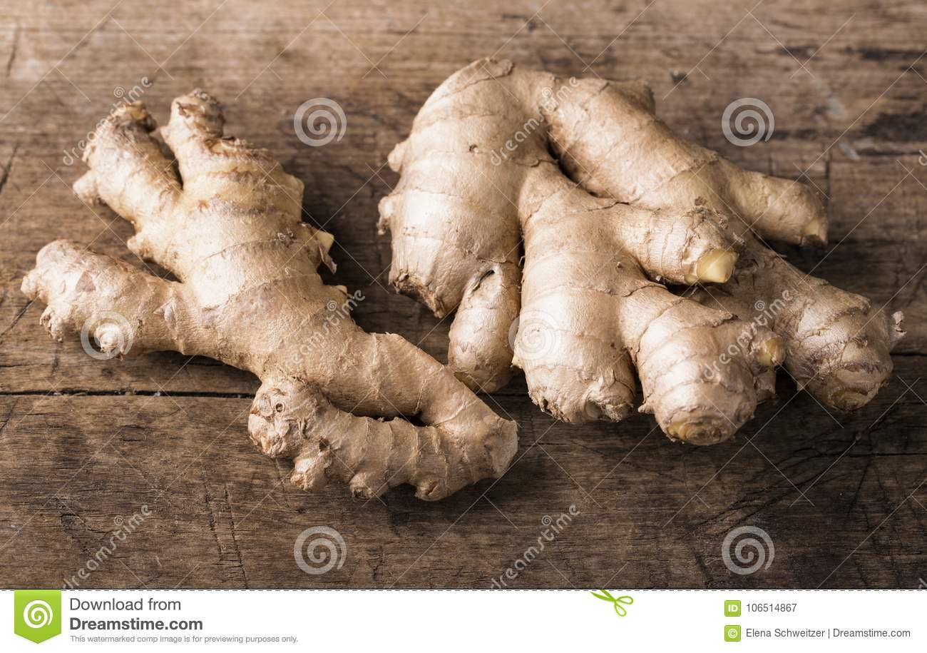 Ginger fresh roots