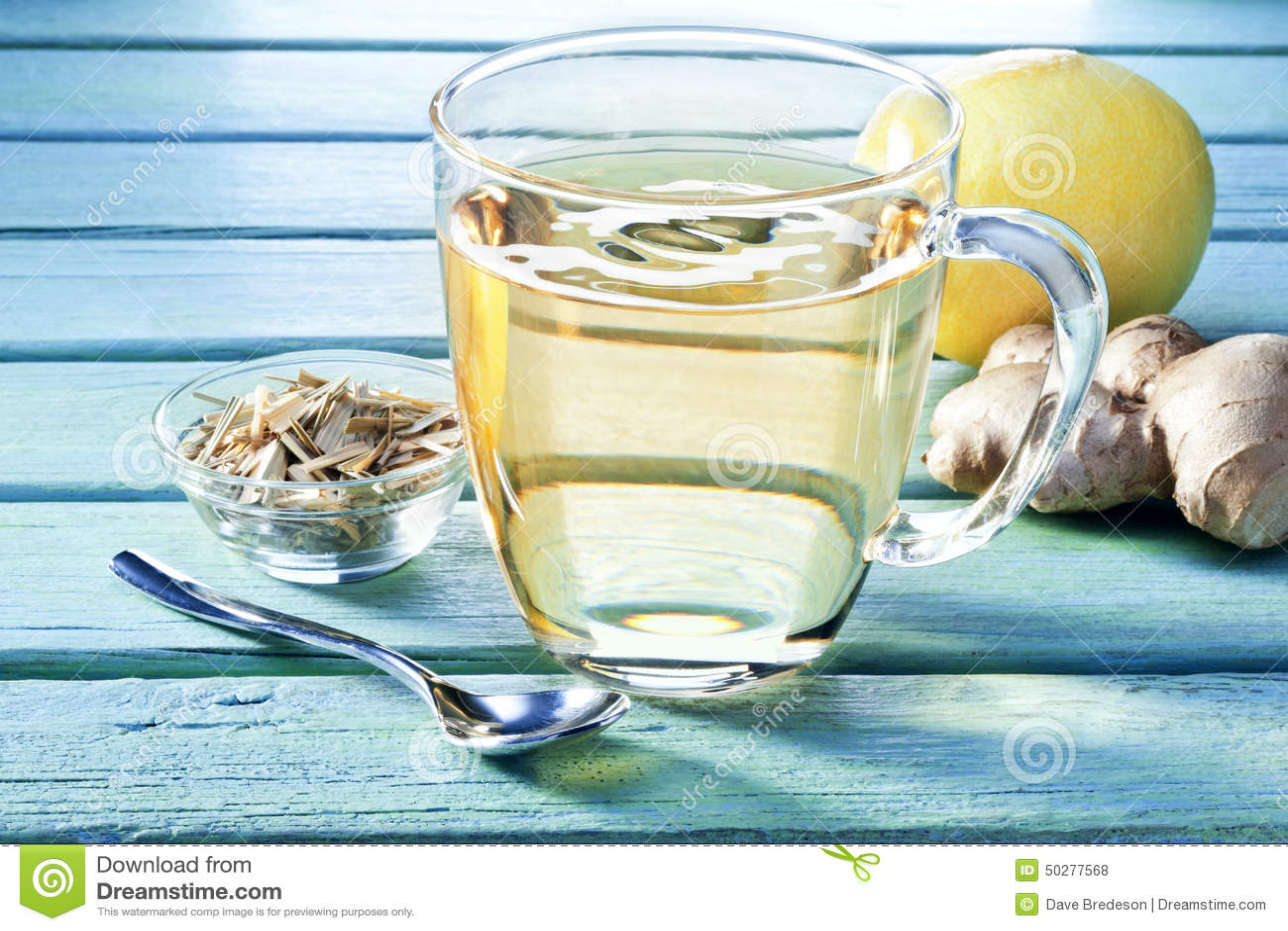 Ginger Lemon Tea Cup