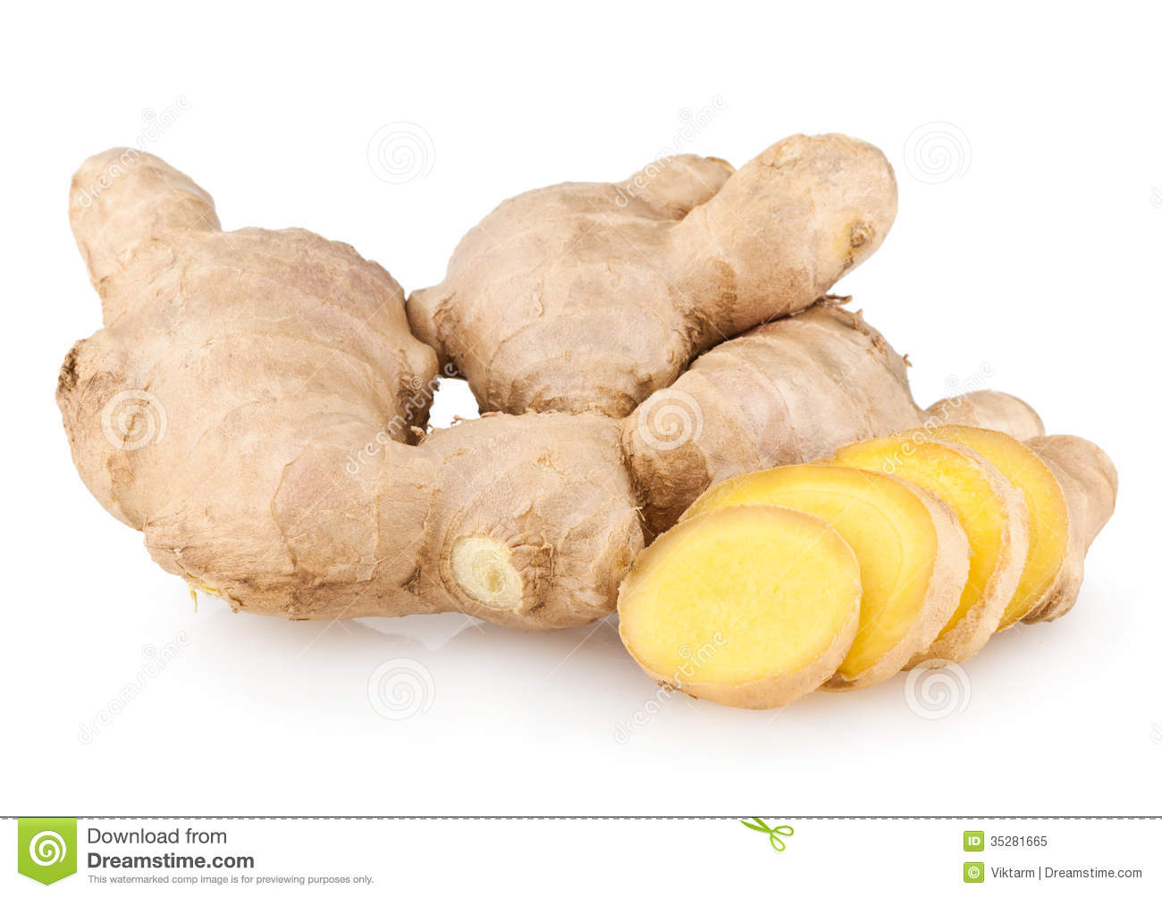 how to cut up ginger root