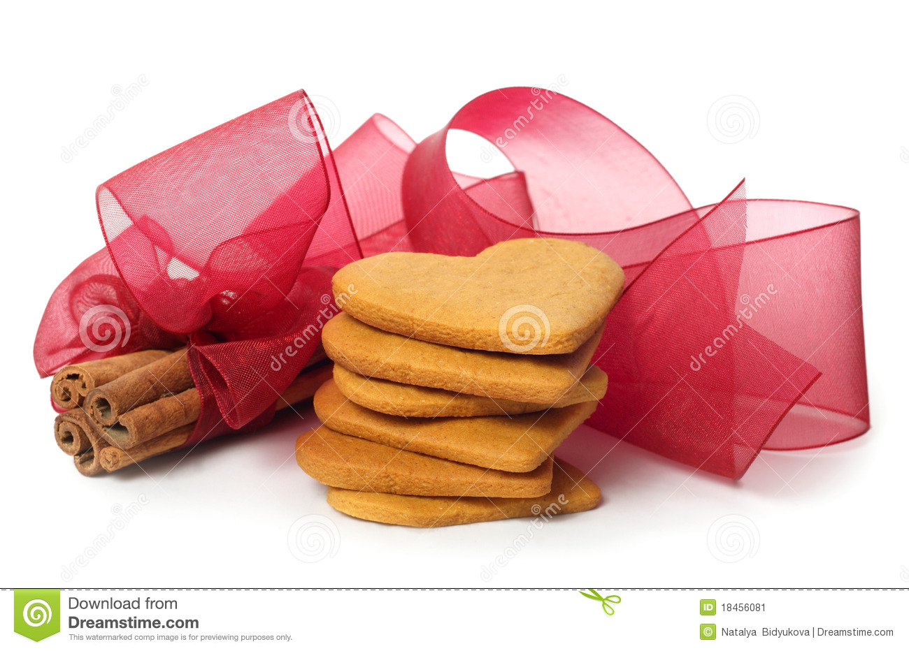 Ginger Snap And Cinnamon Stock Image - Image: 18456081