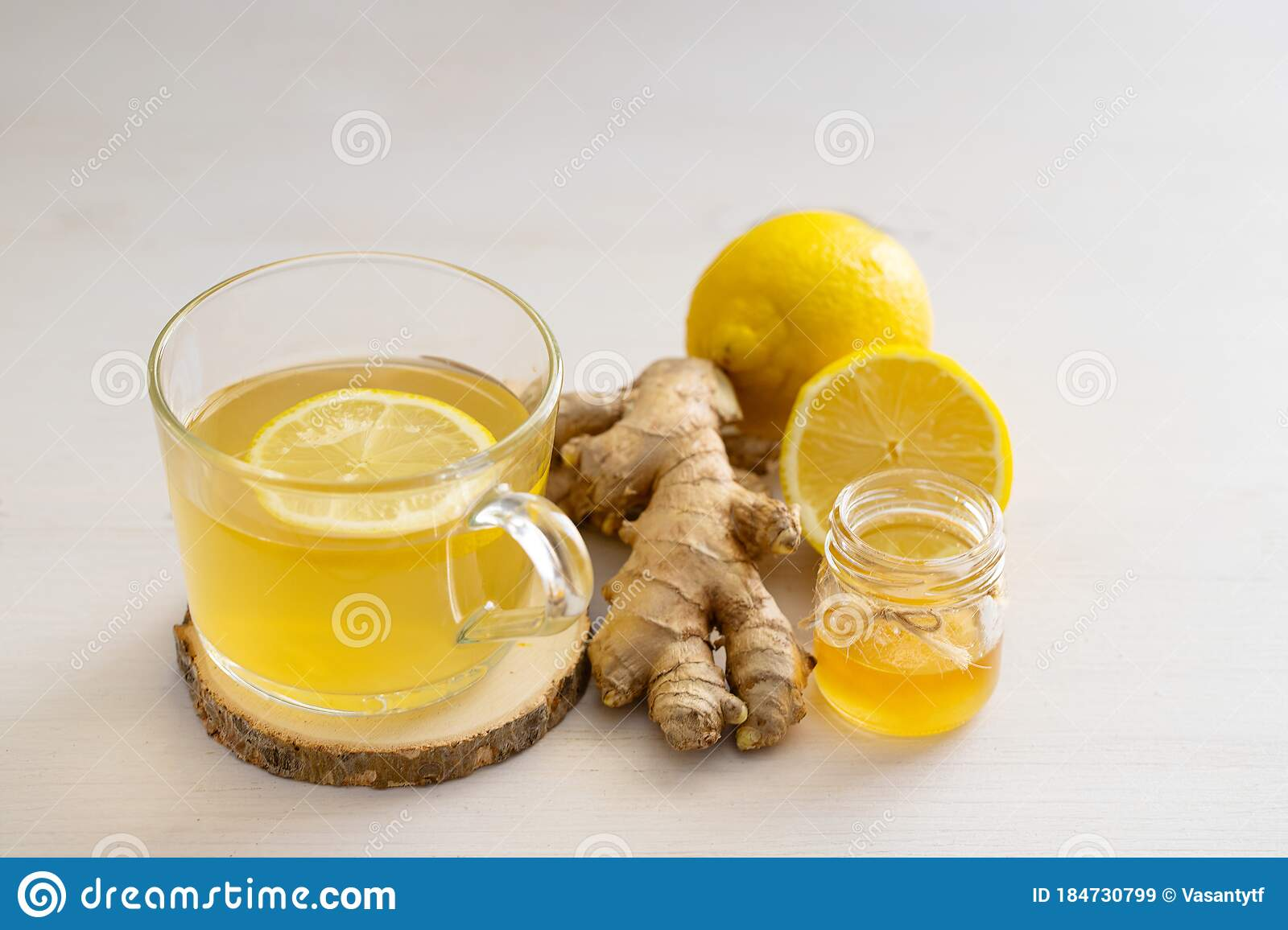 Ginger Tea For Flue And Cold Stock Image Image Of Remedies Benefits 184730799