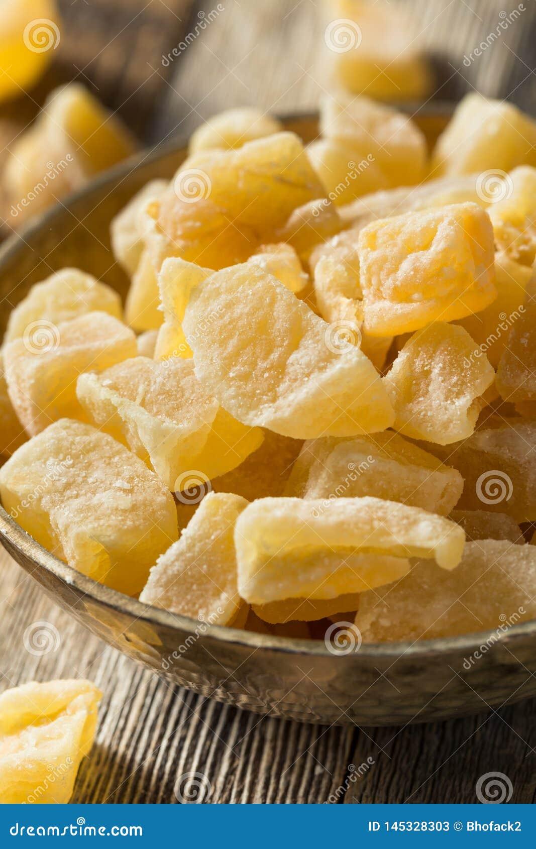 Ginger Treats glacé doux organique