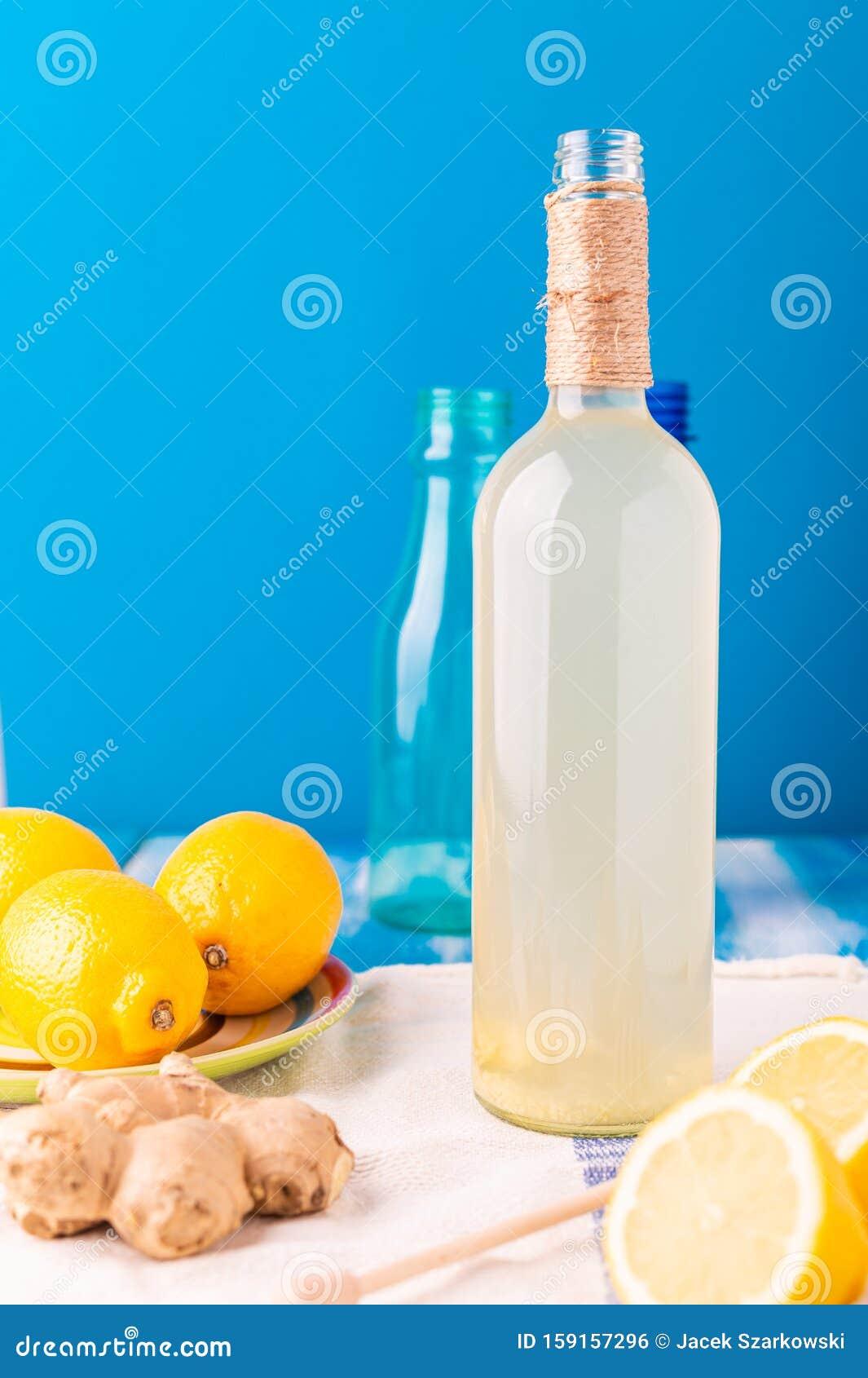 ingefära honung dryck