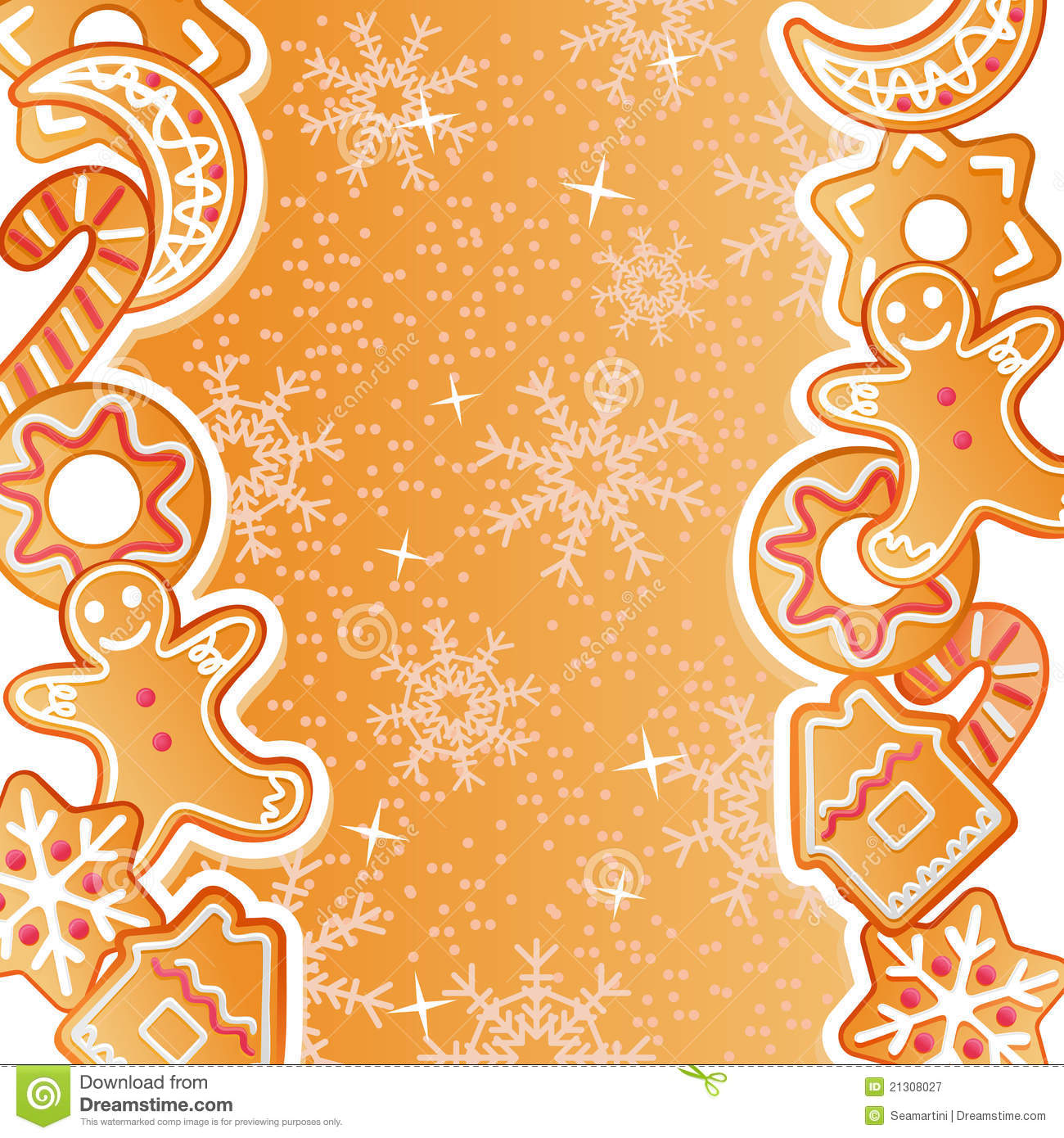 gingerbread background royalty free stock photography