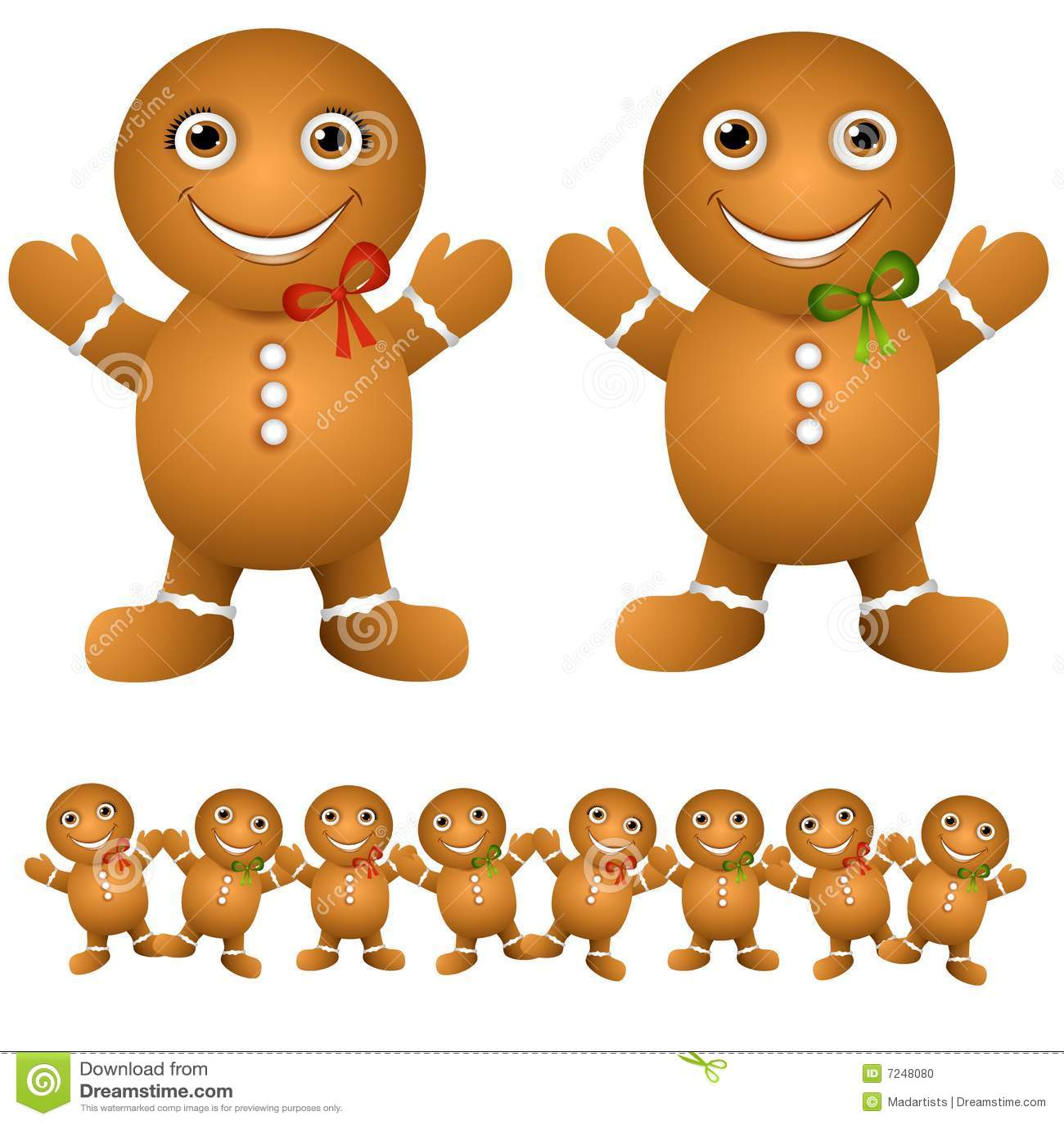 Gingerbread Cookie Babies