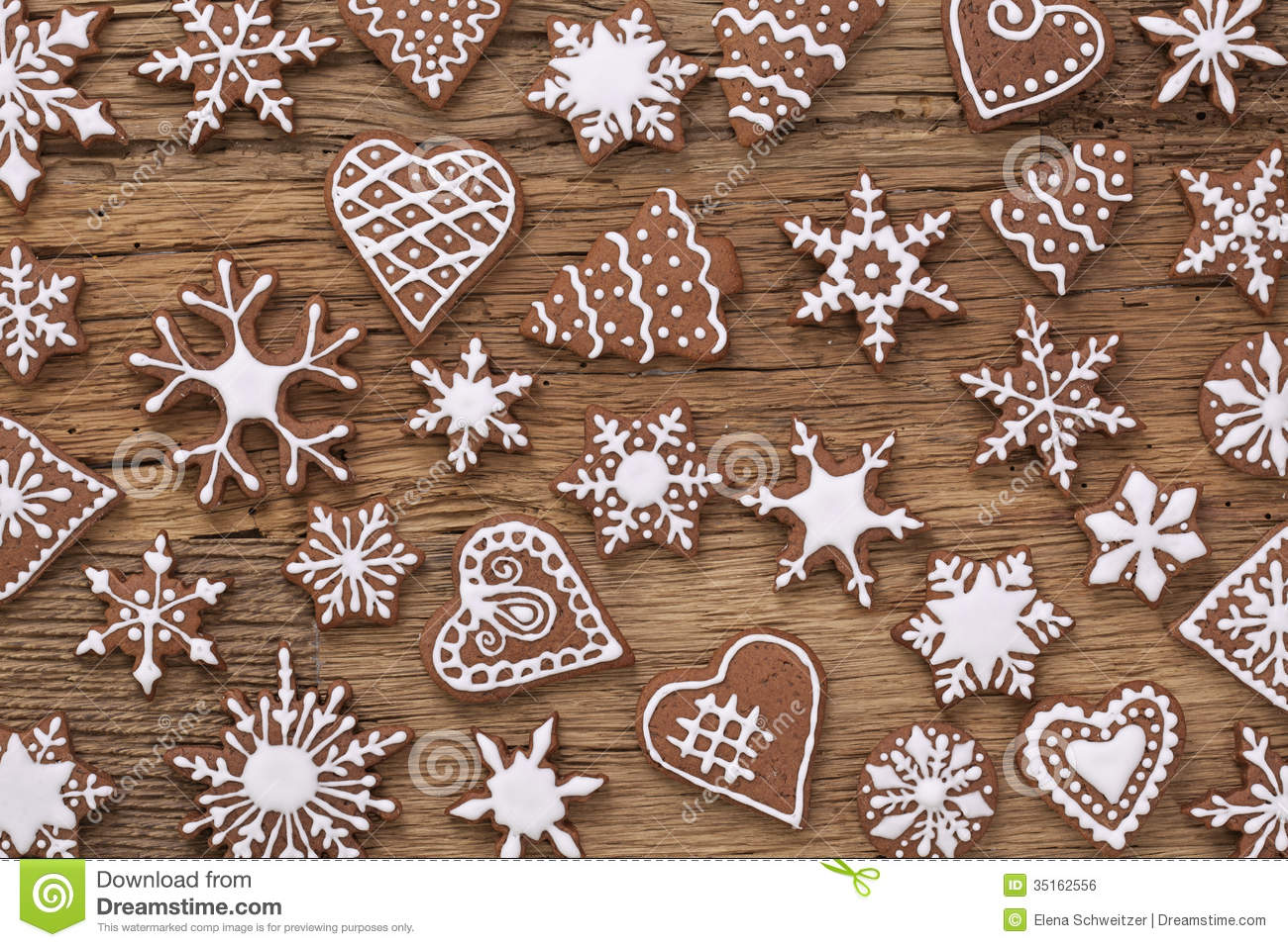 Gingerbread Cookies Royalty Free Stock Image - Image: 35162556