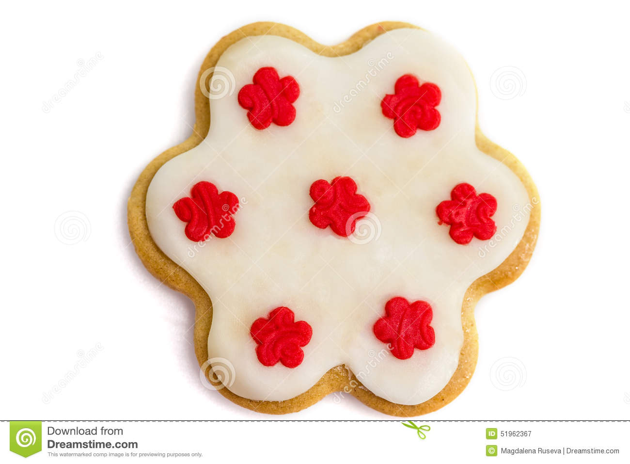 Gingerbread Cookies With Royal Icing Stock Photo - Image: 51962367