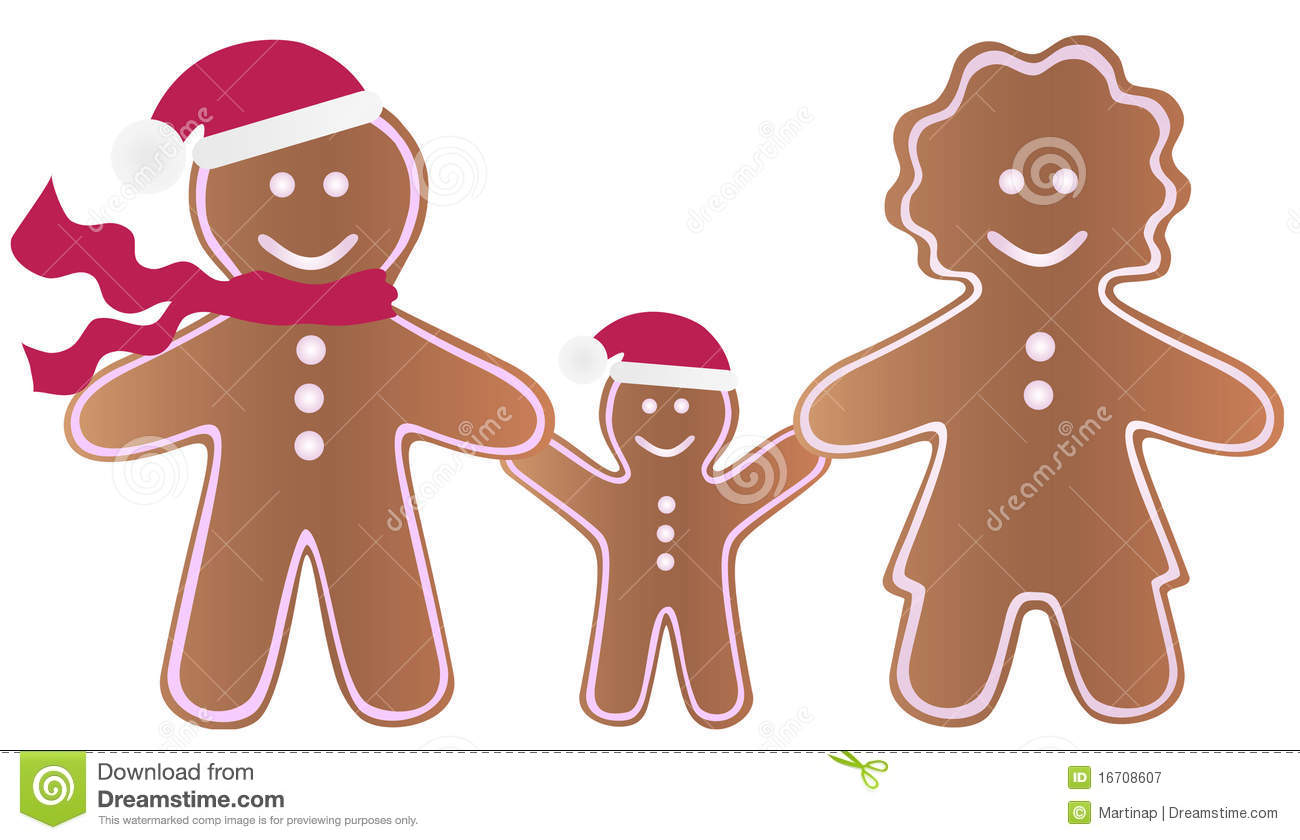 Gingerbread Family Gingerbread family