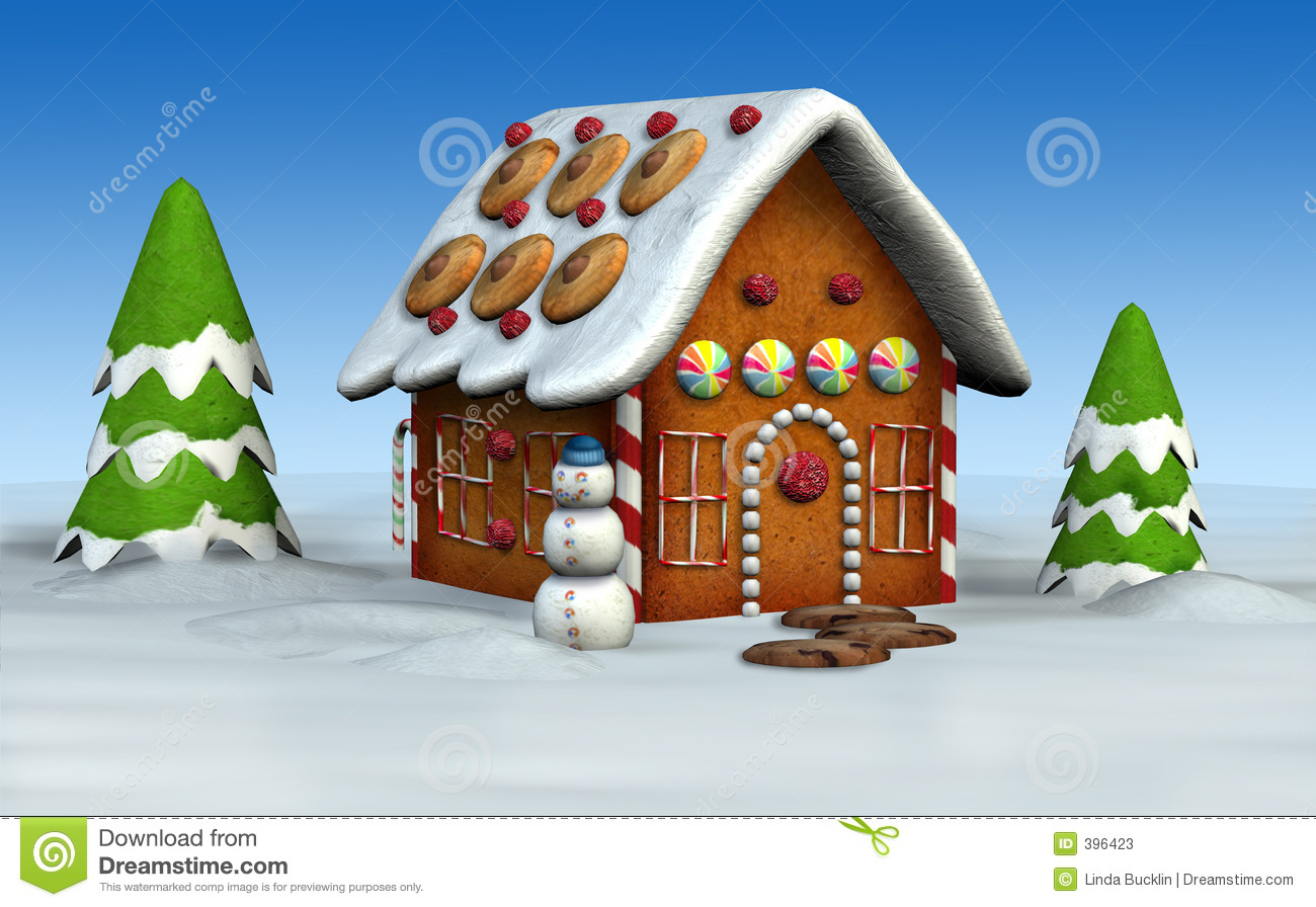 Gingerbread House Stock Photos - Image: 396423