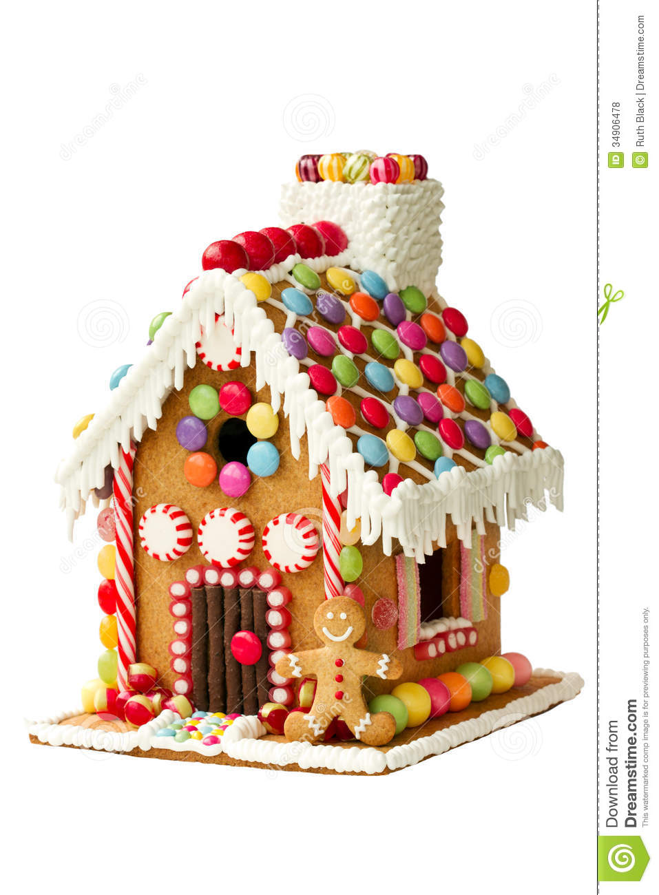 Free Gingerbread House Clipart | New Calendar Template Site
