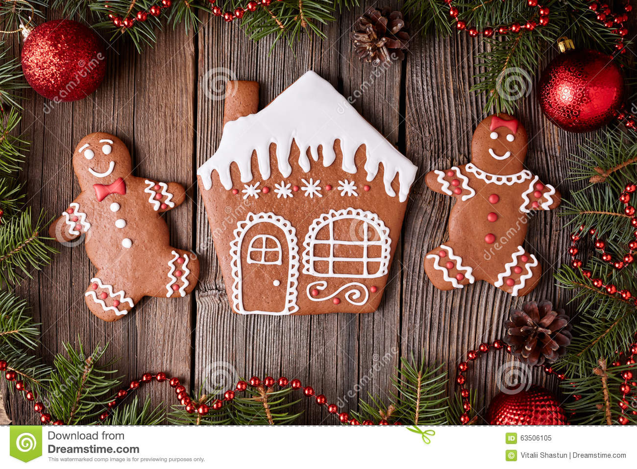 Gingerbread Table Decorations