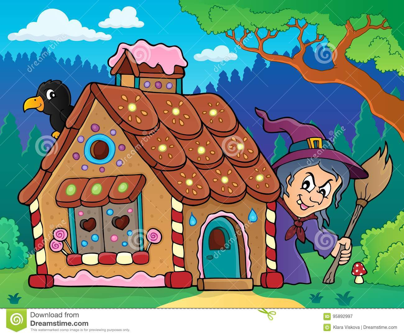 Gingerbread house theme image 3