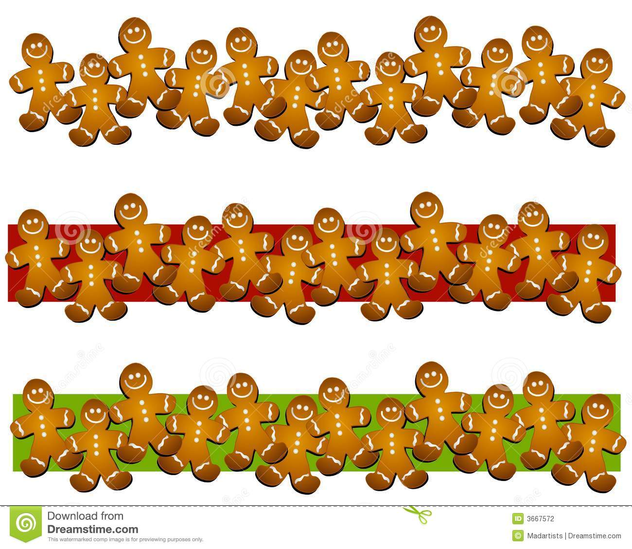 Gingerbread man cookie borders stock illustration illustration gingerbread man cookie borders publicscrutiny Images