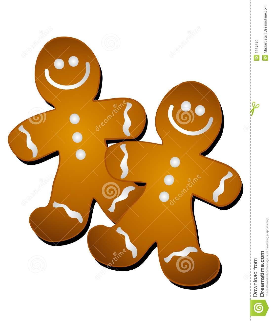 gingerbread man cookies clip art stock illustration illustration rh dreamstime com clip art cookies and cakes clip art cookies free