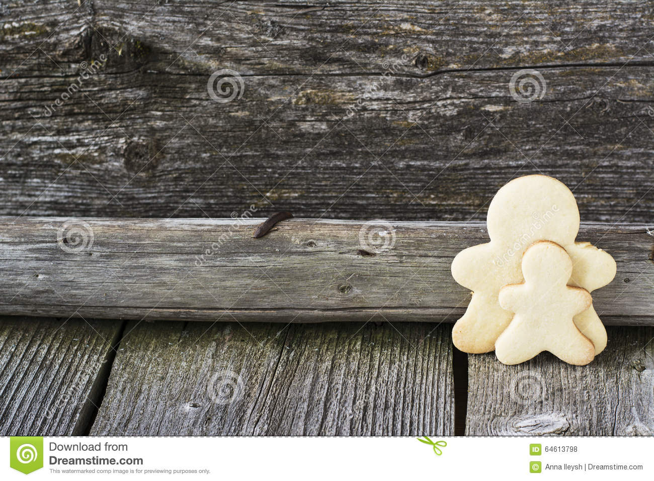Gingerbread Man Cookies Stock Photo Image Of Child Cheap 64613798