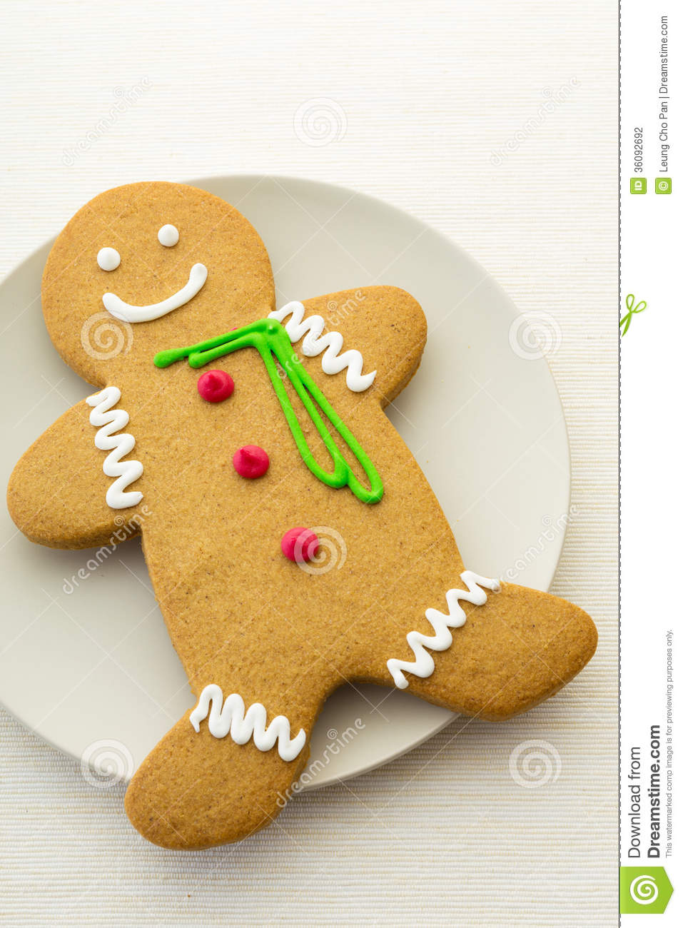 Gingerbread Man Cookies Stock Photography - Image: 36092692