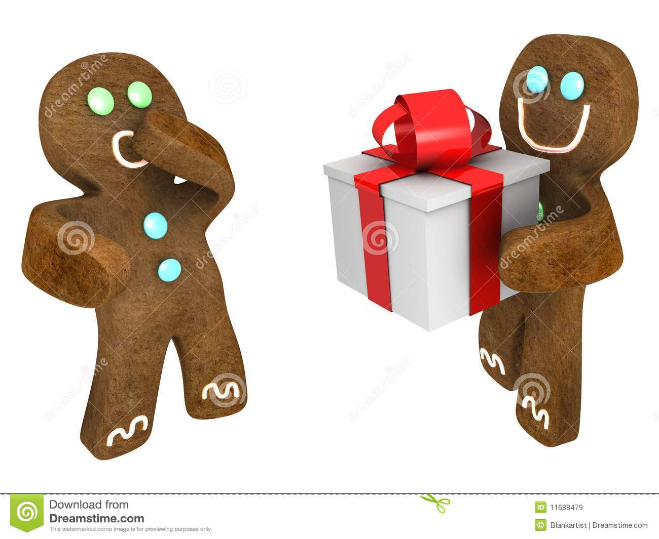 gingerbread man present royalty free stock images image ice cube clip art svg ice cube clip art free