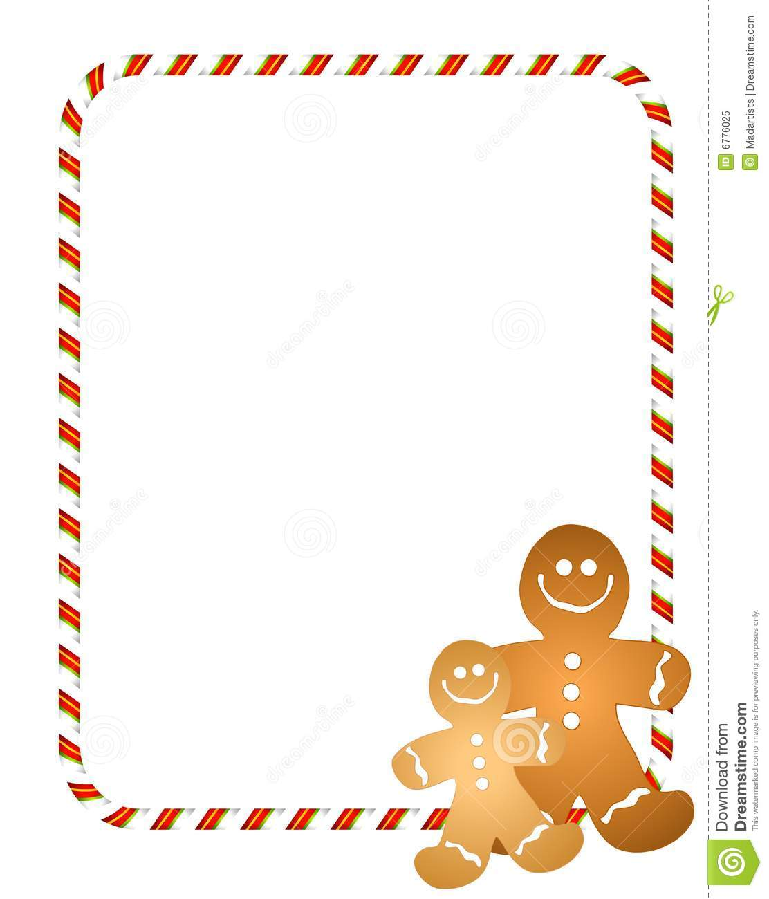 gingerbread men border stock illustration illustration of free reindeer clipart border free reindeer clip art download