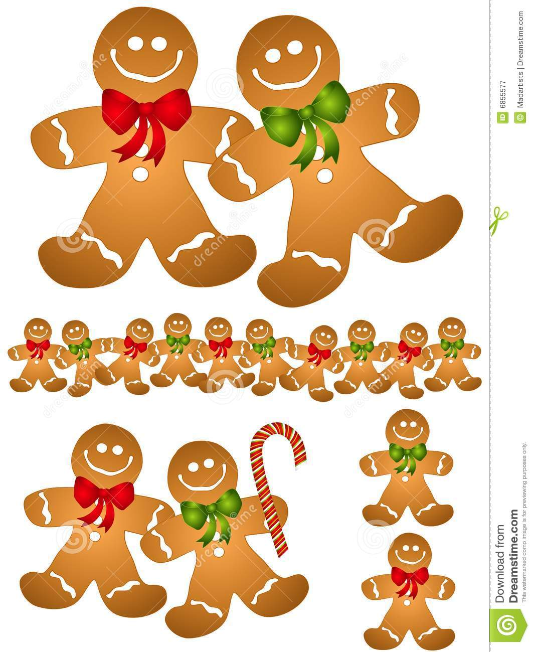 gingerbread men clip art stock vector illustration of christmas rh dreamstime com gingerbread man clip art black and white Gingerbread Man Story Clip Art