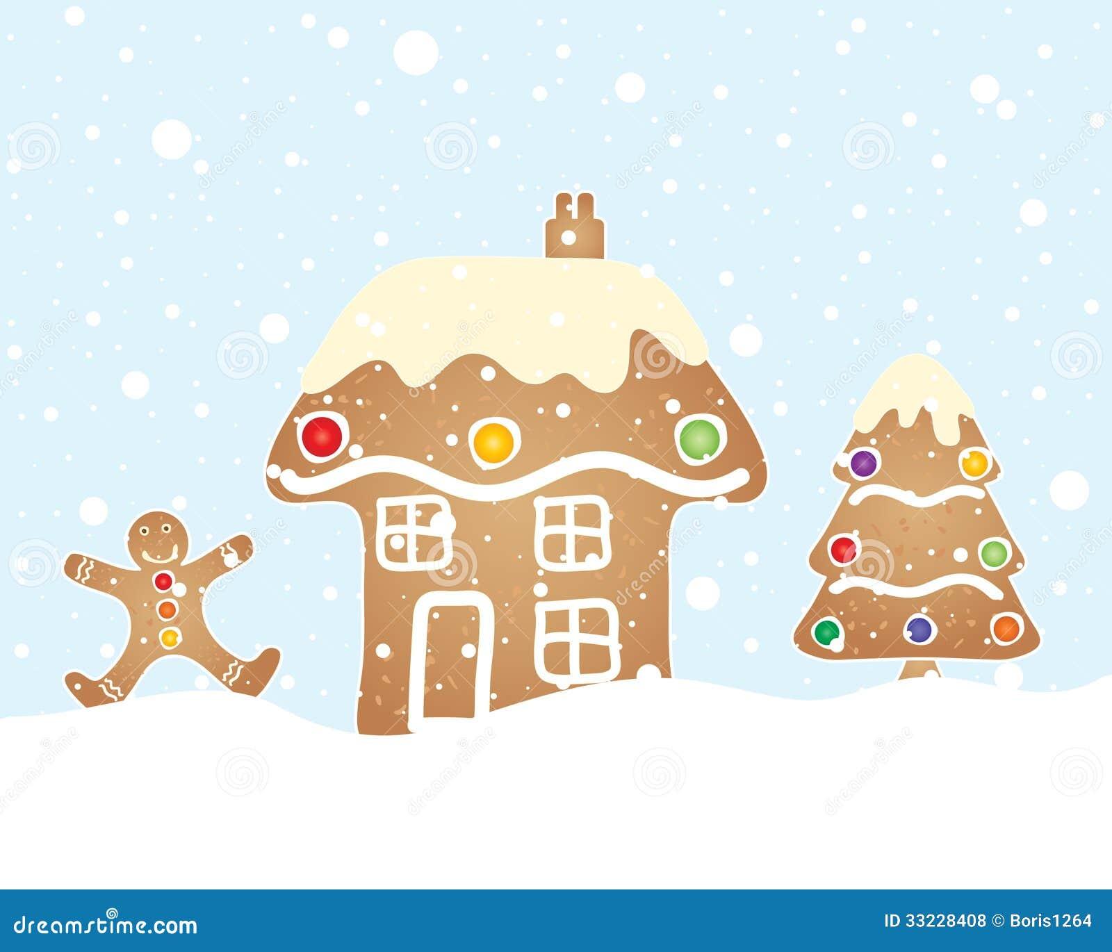 Christmas Tree With Snowflakes