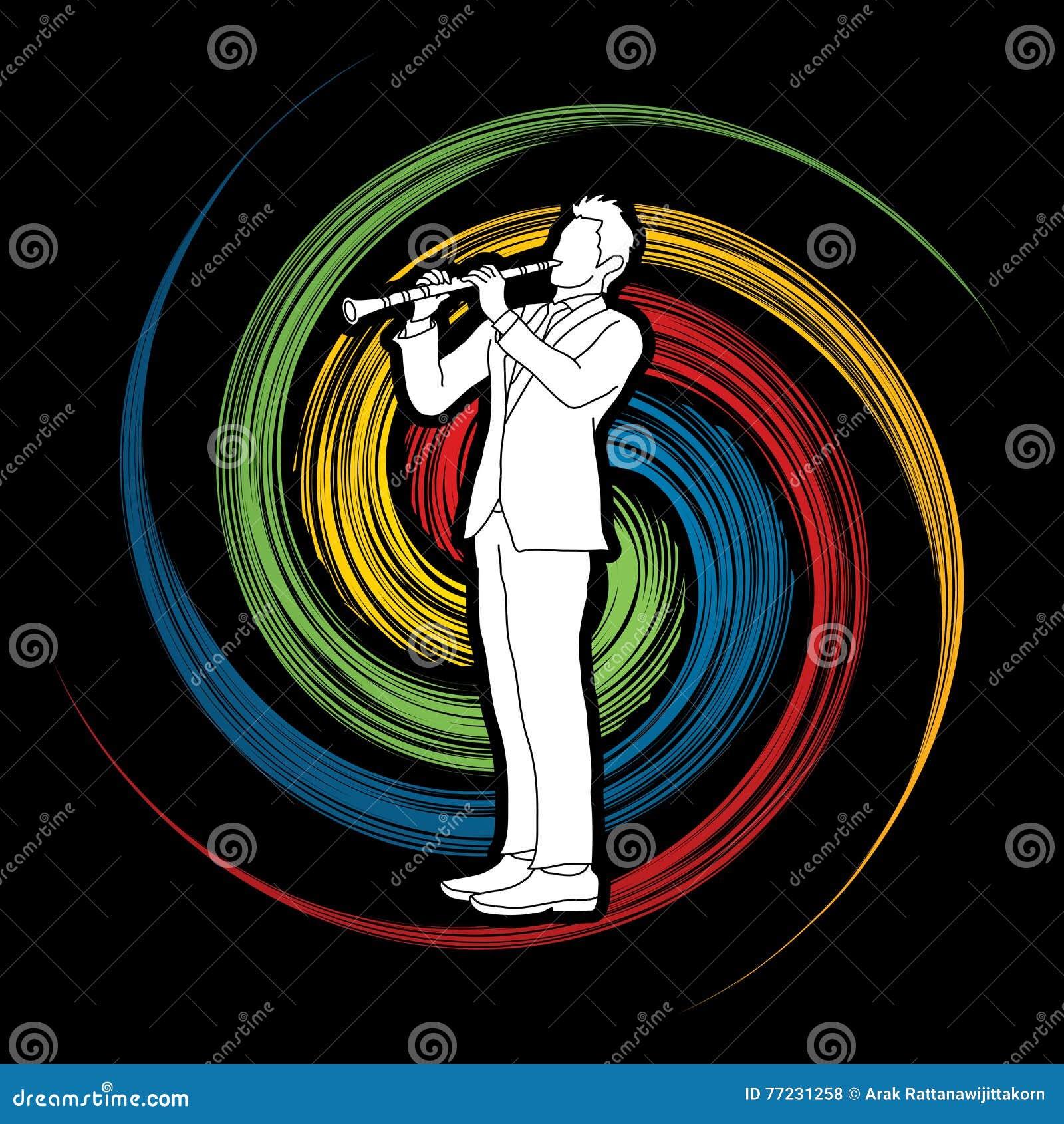 Giocatore del Clarinet