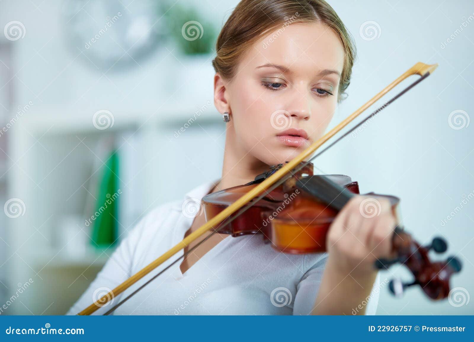 Giocatore del violino